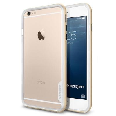 SPIGEN Neo Hybrid EX Bumper Skal till Apple iPhone 6(S) Plus (Gold)