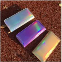 RaxterLaser Zipper Wallet för kvinnor - Gold
