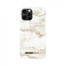 iDeal of SwedenIDEAL FASHION CASE iPhone 12 & 12 Pro GOLDEN PEARL MARBLE