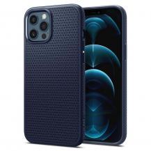 SpigenSPIGEN Liquid Air mobilskal iPhone 12 Pro Max Blå