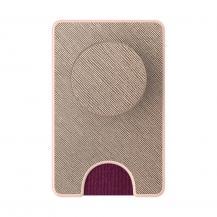 PopSocketsPOPSOCKETS Wallet Avtagbar Mobil Plånbok PopWallet - Saffiano Rose Gold
