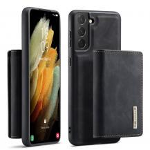 DG.MINGSamsung Galaxy A52 5G Skal DG.MING M1 Magnetic Tri-fold Wallet Med Kickstand