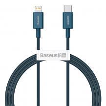 BASEUSBaseus Fast Charging Lightning - USB Typ-C Kabel 20 W 1 m - Blå
