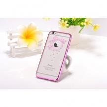 DeviaDevia Skal med Swarovski-Stenar till Apple iPhone 6(S) Plus - Garland Rosa