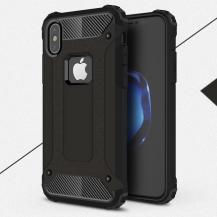 A-One BrandHybrid Armor Mobilskal till Apple iPhone XS / X - Svart
