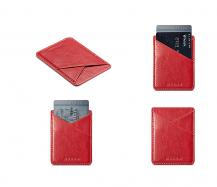 A-One BrandMuxma Kreditkortshållare för smartphones - Röd