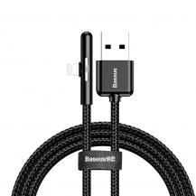 BASEUSBaseus Mobile Game Elbow Kabel USB lightning 2.4A 1m Svart