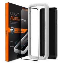SpigenSpigen Härdat Glas (Alm) Fc iPhone 11 Svart