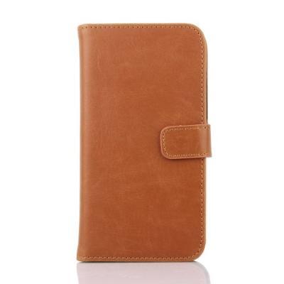 Plånboksfodral till Sony Xperia E4 - Camel