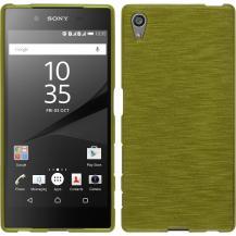 A-One BrandBrushed Flexicase Skal till Sony Xperia Z5 - Grön