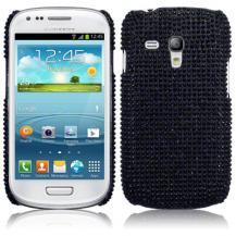 TerrapinBling Bling Skal till Samsung Galaxy S3 mini i8190 (Svart)