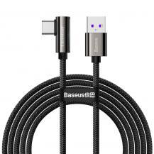 BASEUSBaseus Fast Charging Kabel USB Type-C 66W 2m - Svart