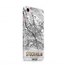 Skal till Apple iPhone 7/8 - Stockholm Karta