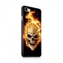Skal till Apple iPhone 7/8 - Skull on fire