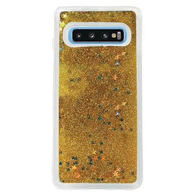 Glitter Skal till Samsung Galaxy S10 Plus - Guld