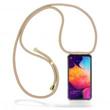 CoveredGear-NecklaceCoveredGear Necklace Case Samsung Galaxy A50 - Beige Cord