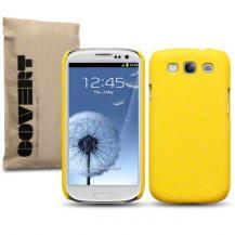 CovertCovert Baksideskal tillSamsung Galaxy S3 i9300 (Gul)