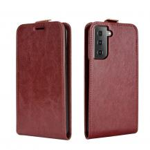 A-One BrandFlip mobilväska till Samsung Galaxy S21 Ultra - Brun