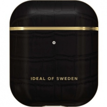 iDeal of SwedeniDeal of Sweden | Apple Airpods 1/2 Case Black Croco