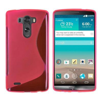 FlexiCase Skal till LG G3 (Magenta)