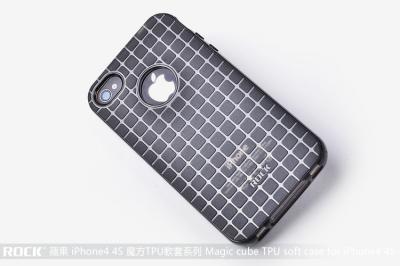 Rock Flexicase skydd till Apple iPhone 4 och 4S (Black)