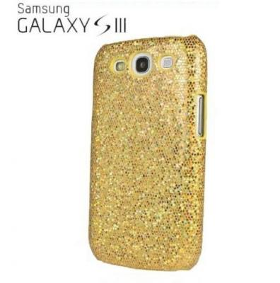 Sparkle Baksideskal tillSamsung Galaxy S3 i9300 (Gul)
