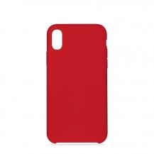 PuroPuro Icon Cover till iPhone XR - Röd