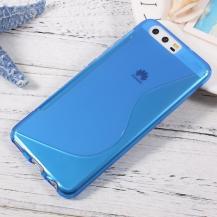OEMCurve Mobilskal till Huawei P10 - Blå