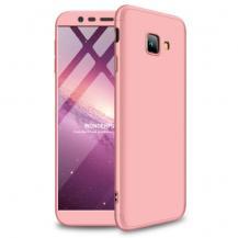 GKKGKK Detachable Skal till Samsung Galaxy J4 Plus - Rose Gold