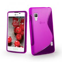 A-One BrandFlexiCase Skal till LG Optimus L4 II - E440 - Lila