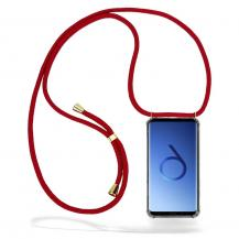 CoveredGear-NecklaceCoveredGear Necklace Case Samsung Galaxy S9 - Maroon Cord