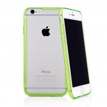 CaseualCASEual Outline Skal till iPhone 6 / 6S - Grön/Transparent