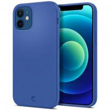 SpigenSPIGEN Cyrill Silicone Skal iPhone 12 Mini - Linen Blue