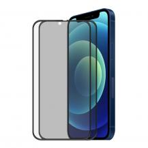 A-One Brand[2-PACK] Privacy Härdat Glas iPhone 13 / iPhone 13 Pro Skärmskydd - Svart