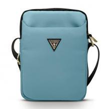 "GuessGuess Väska 10"" Nylon Triangle Logo - Blå"