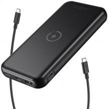 ChoetechChoetech Power Bank 10000mAh USB Type-C Trådlös Laddare 10W - Svart