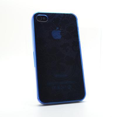 Baksidesskal till iPhone 4/4S (Blå)