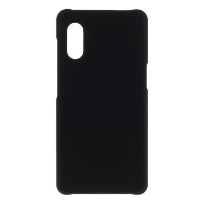 Rubberized Hard Mobilskal Samsung Galaxy Xcover Pro - Svart