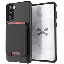 GhostekGhostek - Magnetic Wallet Korthållare Skal Galaxy S21 Plus - Svart
