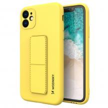 WozinskyWozinsky Kickstand Silicone Skal iPhone 7/8/SE 2020 - Gul