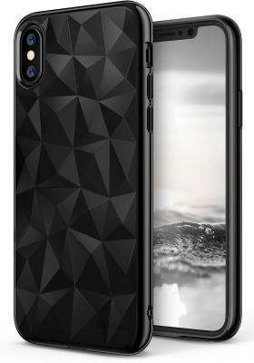 Ringke Air Prism Skal till Apple iPhone XS / X - Ink Black