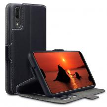 A-One BrandQubits Plånboksfodral till Huawei P20 - Svart