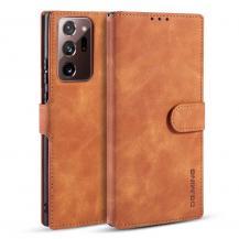 DG.MINGDG.MING Leather Fodral Till Galaxy Note 20 Ultra - Brun