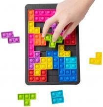 Fidget ToysBuilding Block Pop it pussel - lindra stress eller rastlöshet