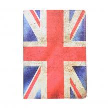"""A-One BrandFodral med Stativfunktion för iPad 10.2"""" 2019 - Engelsk Flagga"""