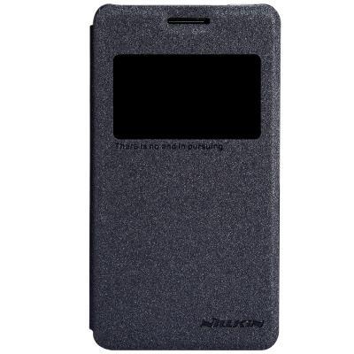 Nillkin Sparkle Window View fodral till Sony Xperia E1 (Svart)