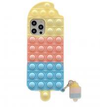 Fidget ToysIce Cream Pop it Fidget Skal till iPhone 7/8/SE (2020) - Rosa