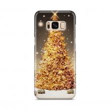 TheMobileStore Print CasesSkal till Samsung Galaxy S8 - Glimmrande Julgran