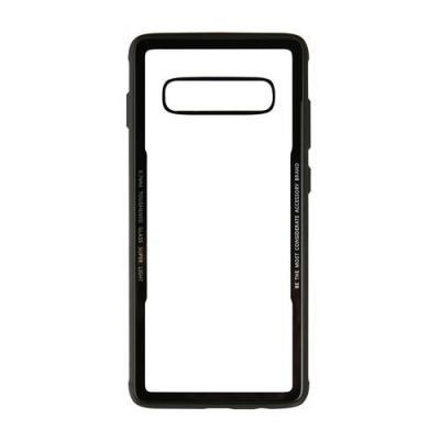 GEAR Mobilskal med Tempererat Glas till Samsung S10+ - Svart