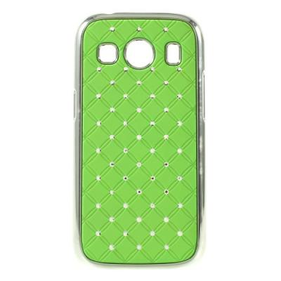 Diamante Skal till Samsung Galaxy Ace 4 (G357) - Grön